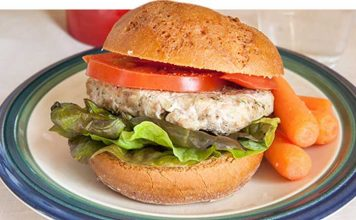 recettes helthy burger fitness musculation
