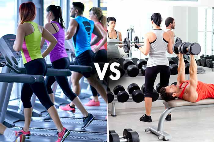 Cardio versus musculation ou fitness pour maigrir le for Fitness musculation