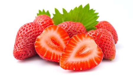 fruit fraise musculation
