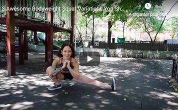 3 techniques squat une jambe
