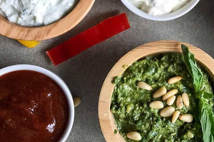6 d licieuses recettes de sauces healthy faibles en calorie. Black Bedroom Furniture Sets. Home Design Ideas