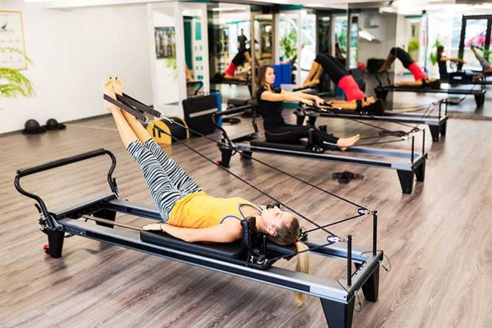 bienfaits pilates machine reformer